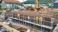 Pont de la jamagne : les travaux avancent