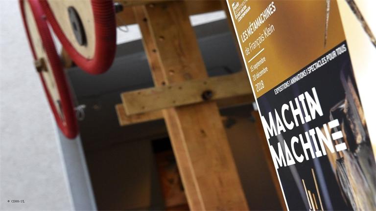 Les Méta-machines de François KLEIN rayonnent au musée