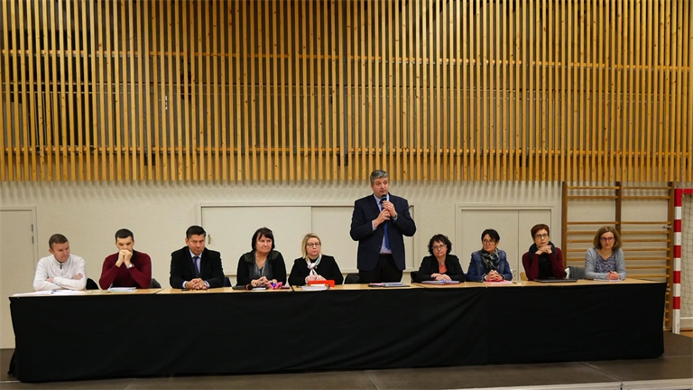 Collège de Vagney : une réunion pour exposer les solutions choisies