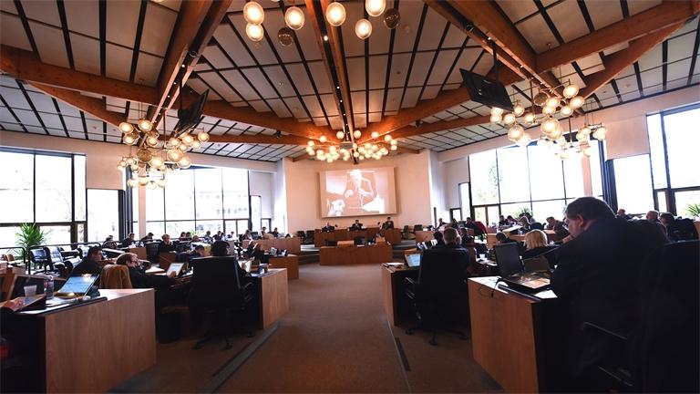 Budget 2019: unanimité et cap sur l'investissement