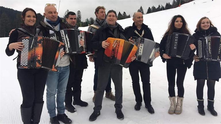 L'accordéon à la fête