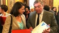 François Vannson évoque le plan santé avec Agnès Buzyn
