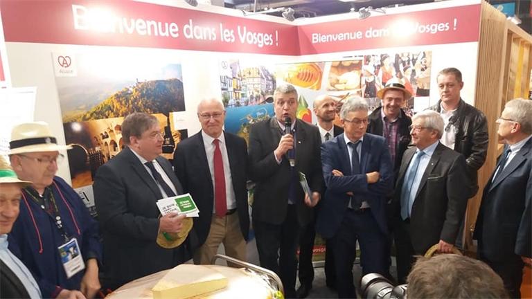 """Journée """"Vosges"""" au salon de l'agriculture"""
