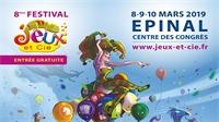 """Place aux jeux! Le festival """"Jeux et Cie"""" revient à Epinal"""