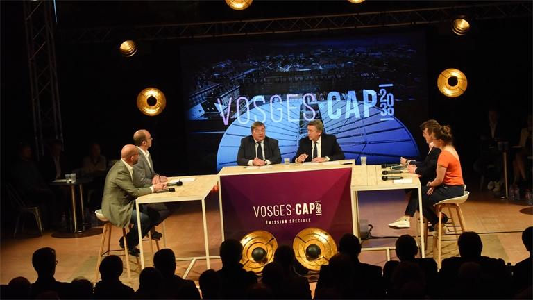 Vosges Cap 2030 : revivez la soirée en images