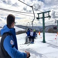 Les domaines skiables voient la vie en Vosges