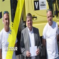 Le Tour voit la vie en Vosges