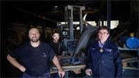 Audio: l'unique fondeur d'art des Vosges sacré Meilleur Ouvrier de France