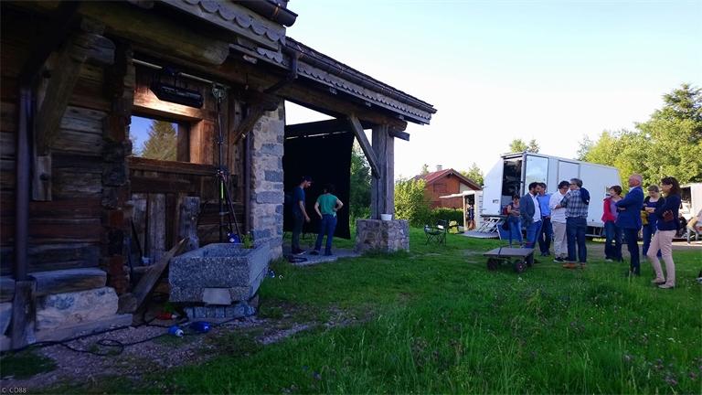 Zone Blanche : le tournage dans les Vosges est terminé