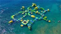 Saulxures-sur-Moselotte : un parcours flottant de 2000 m² sur le lac !