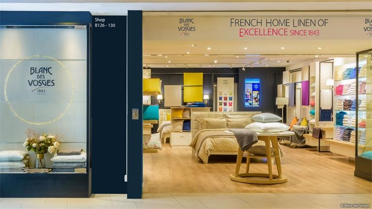 « Blanc des Vosges » ouvre une nouvelle boutique à Hong-Kong