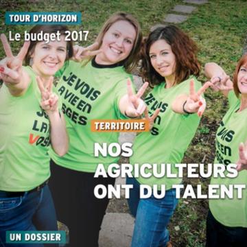 Vivre les Vosges Ensemble - Numéro 59 - mars 2017