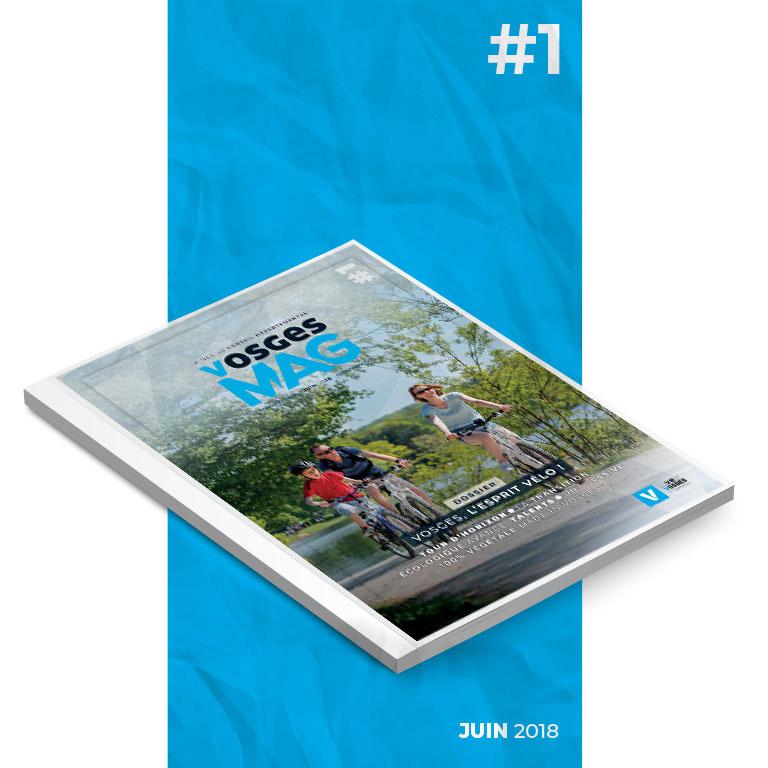 Vosges Mag #1 - Juin 2018