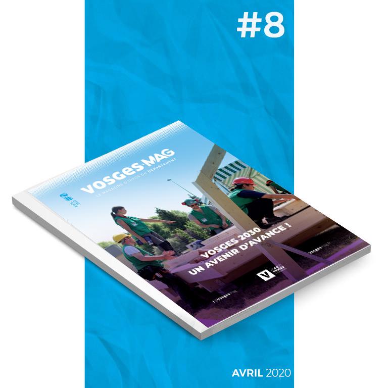 Vosges Mag #8 - Avril 2020