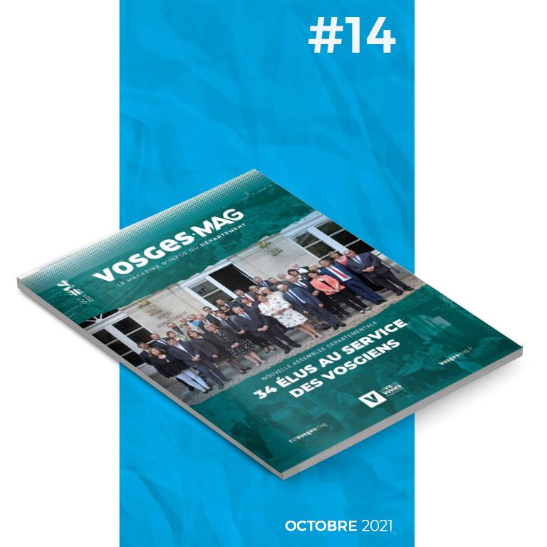 Vosges Mag #14 - Octobre 2021